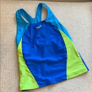 Speedo girls swim tank